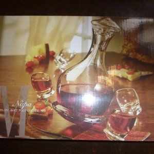Napa 5pc Roly Poly Cordial Set Medallion 5th Ave